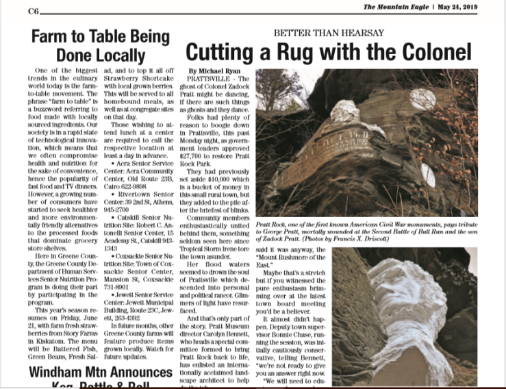 The Mountain Eagle May 24, 2019