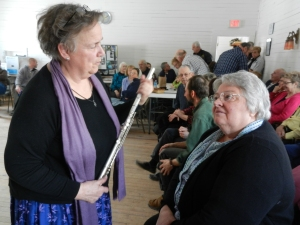 Ginny Scheer (on the left). Contributed Photo